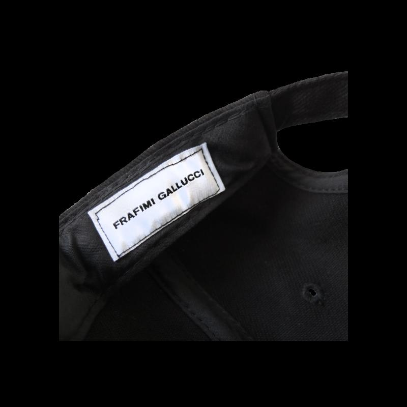 Gallus Worldwide Cap – Black (Detail)