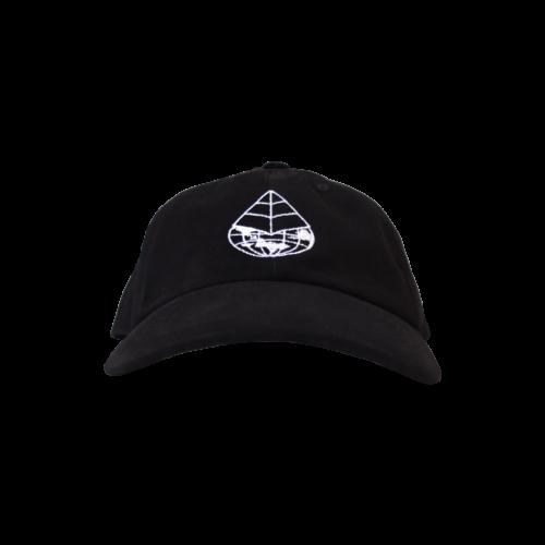 Gallus Worldwide Cap – Black (Front)