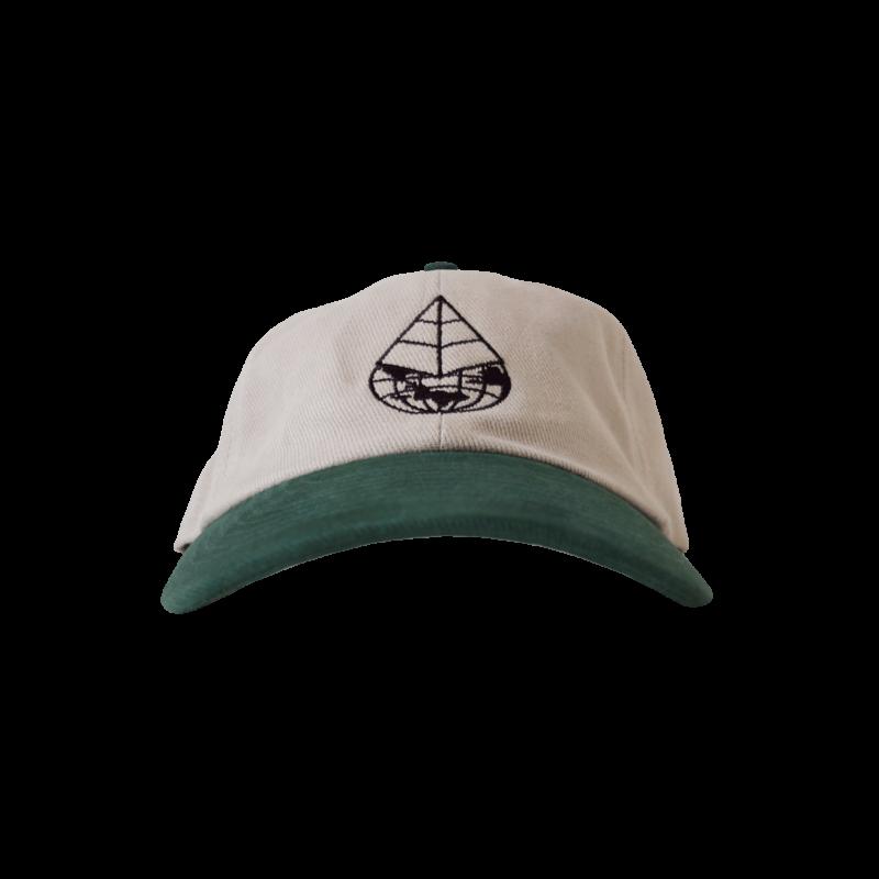 Gallus Worldwide Cap – Cream Forest (Front)